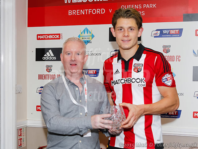 21:53:16 QPR Man of the Match James Tarkowski
