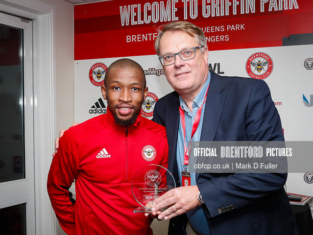 17:19:29 QPR Man of the Match Kamohelo Mokotjo